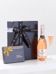 Sparkling Rosé and Chocolates Gift Set