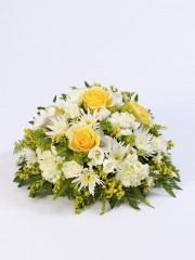 Classic Posy - Yellow and White