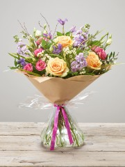 Happy Birthday Tutti Frutti Hand-tied
