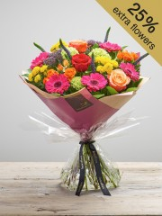 Kaleidoscope Burst Hand-tied