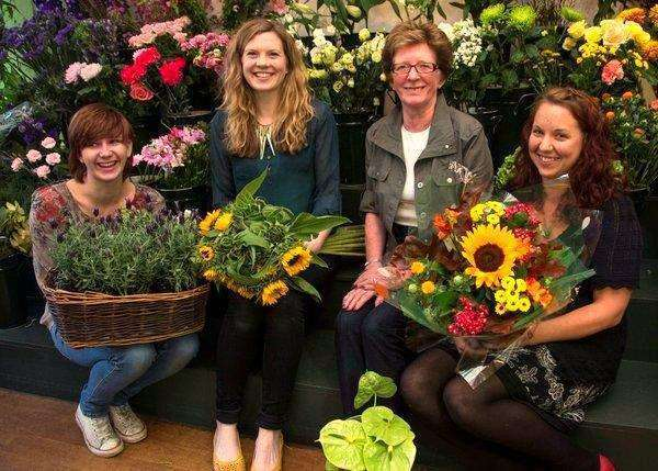 The Girls @ Ellon Florists